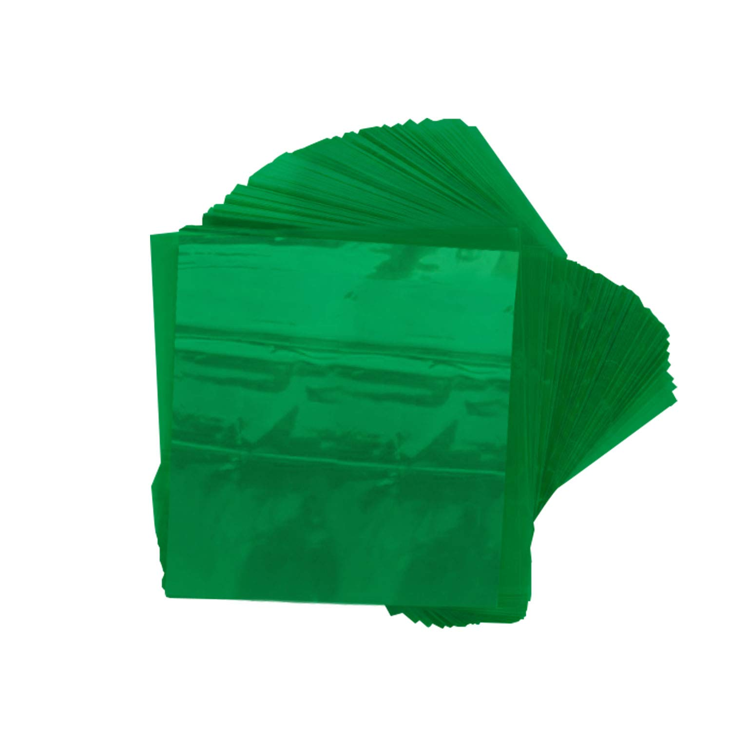Size 5x5 Inch Holds Tight Perfect for All Soft or Hard Candies Iridescent Oasis Supply Twistable Cellophane Wrappers for Candy 500 Count