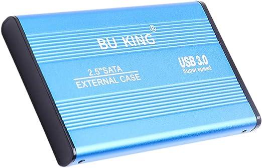 kokiya アルミ2.5イン1TB外付けハードディスクドライブSATA USB 3.0 HDDハードディスク7200RPM
