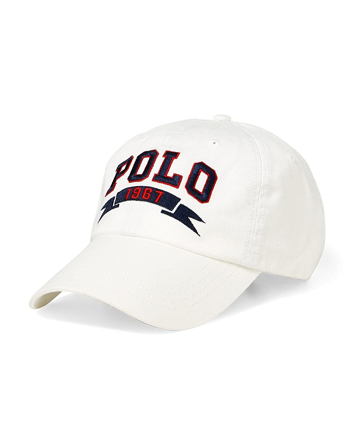 Ralph Lauren Polo Casquette Sport - Polo 1967 Sports Cap (White ...