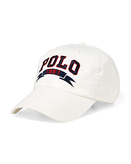 Ralph Lauren Polo Casquette Sport - Polo 1967 Sports Cap (White): Amazon.es: Ropa y accesorios