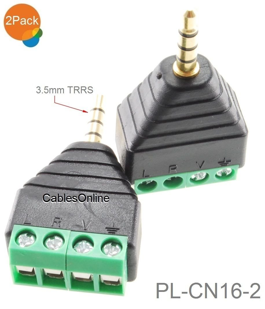 Amazon.com: CablesOnline 2-Pack 3.5mm (1/8\