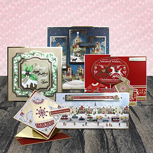 Hunkydory Crafts 2017 Seasonal Style Luxury Topper Collection Christmas Card Kit