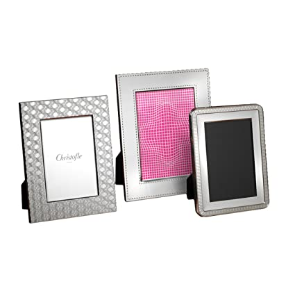 Amazon Christofle Malmaison Silver Plated Picture Frame 4256007