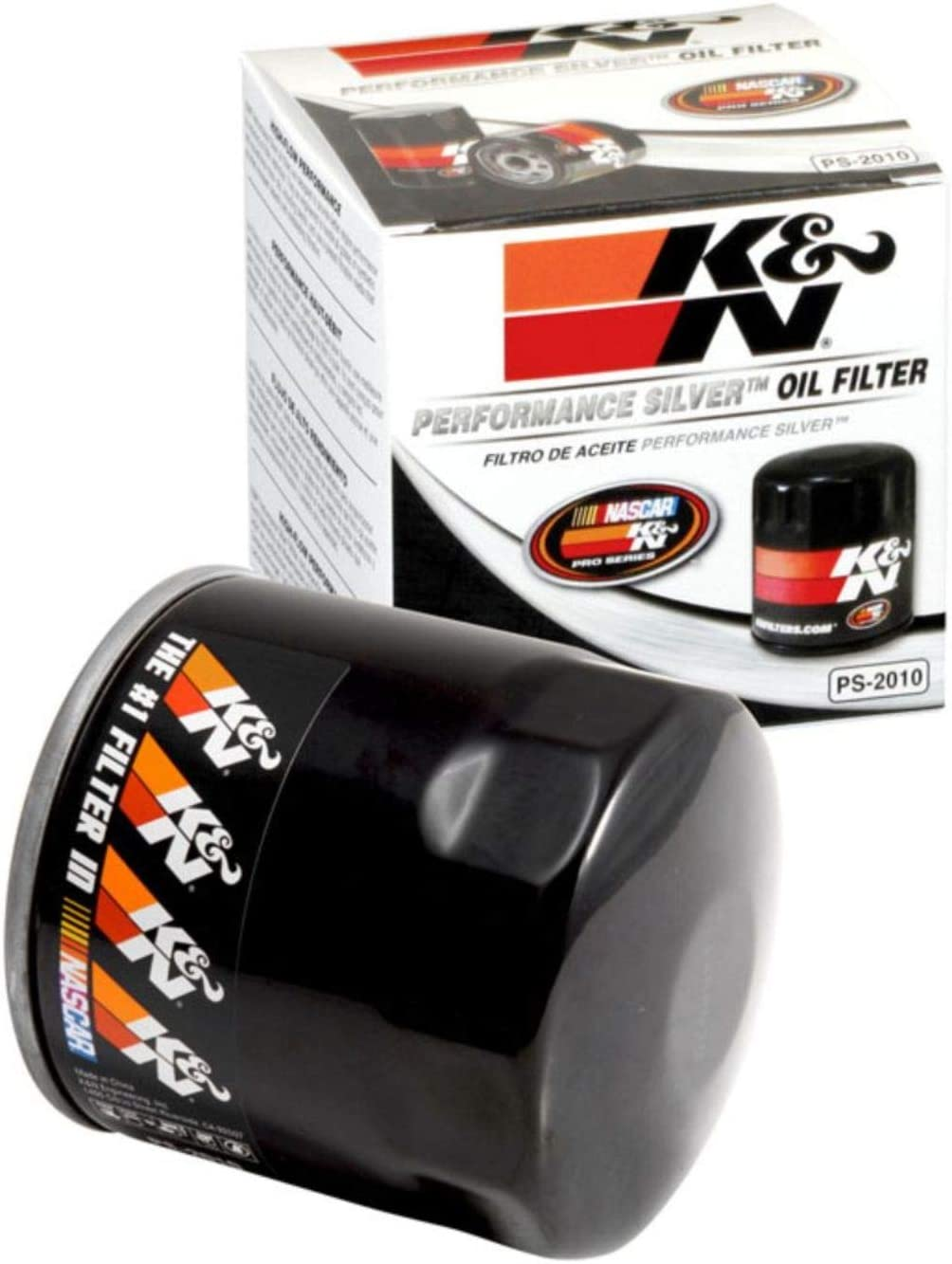 K&N Premium Oil Filter: Designed to Protect your Engine: Fits Select CHEVROLET/DODGE/FORD/JEEP Vehicle Models (See Product Description for Full List of Compatible Vehicles), PS-2010