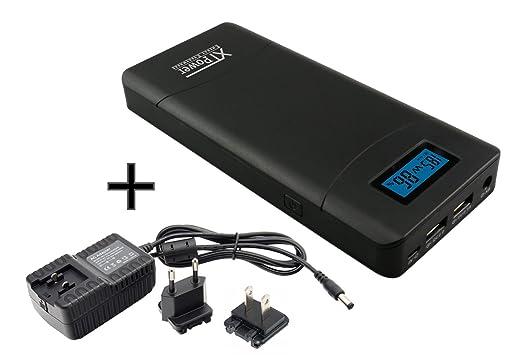 57 opinioni per XTPower® XT-20000QC2 Powerbank- alimentatore incluso- High Performance USB e DC