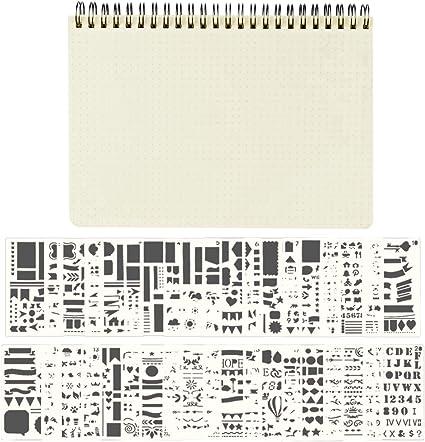 8 colori a quadretti A5 Rosa Quaderno a spirale con copertina in plastica Miquelrius 160 fogli