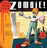 Fold Your Own Zombie 2014 Calendar