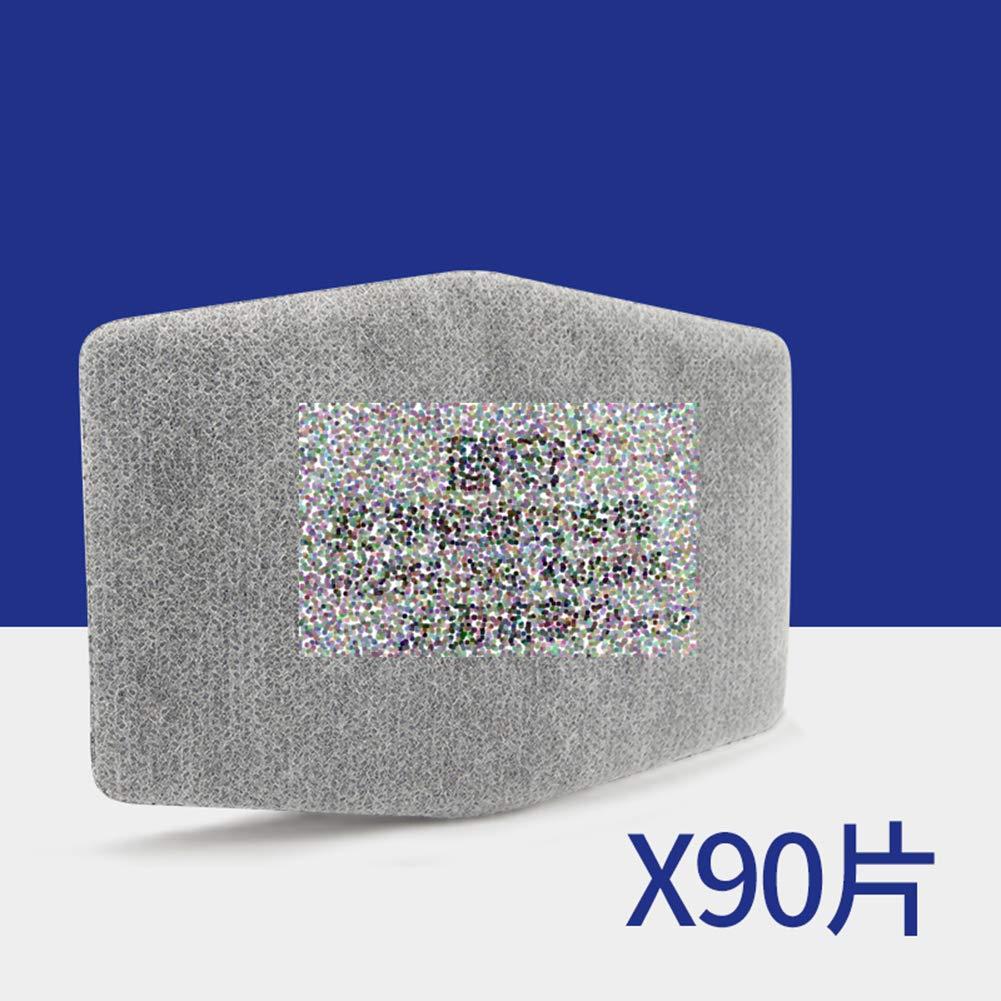 BX Silikon-Staubmaske, leicht zu atmen, dekorative Poliermaske, Aktivkohlefilter Baumwolle Partikelfilter Baumwolle, waschbar