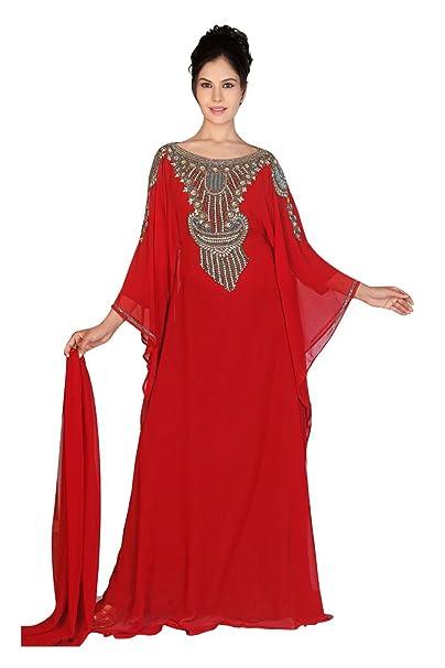 Burka Kaftan Abaya estilo de los Emiratos Árabes Unidos Jilbab Farsha islámica vestido de fiesta vestido
