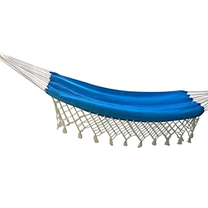 Hangit Cotton Hammock (Ocean Blue, 320 Centimeters)