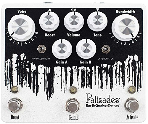 EarthQuaker Devices Palisades V2 Mega Ulitmate Overdrive Guitar Effects Pedal from Earthquaker Devices