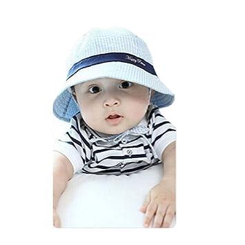 Malloom® Baby Kid Spring Summer Hat Sun Visor Caps (Blue)  Amazon.co ... d8858e0efa7c