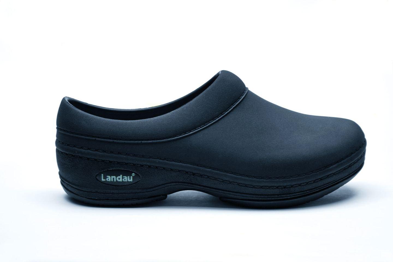 Landau Revive Comfort Mens Clog for Pets, Size 13, Black