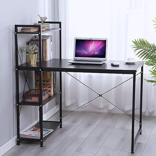 WonderLife Escritorio para Ordenador portátil, Mesa de Estudio ...