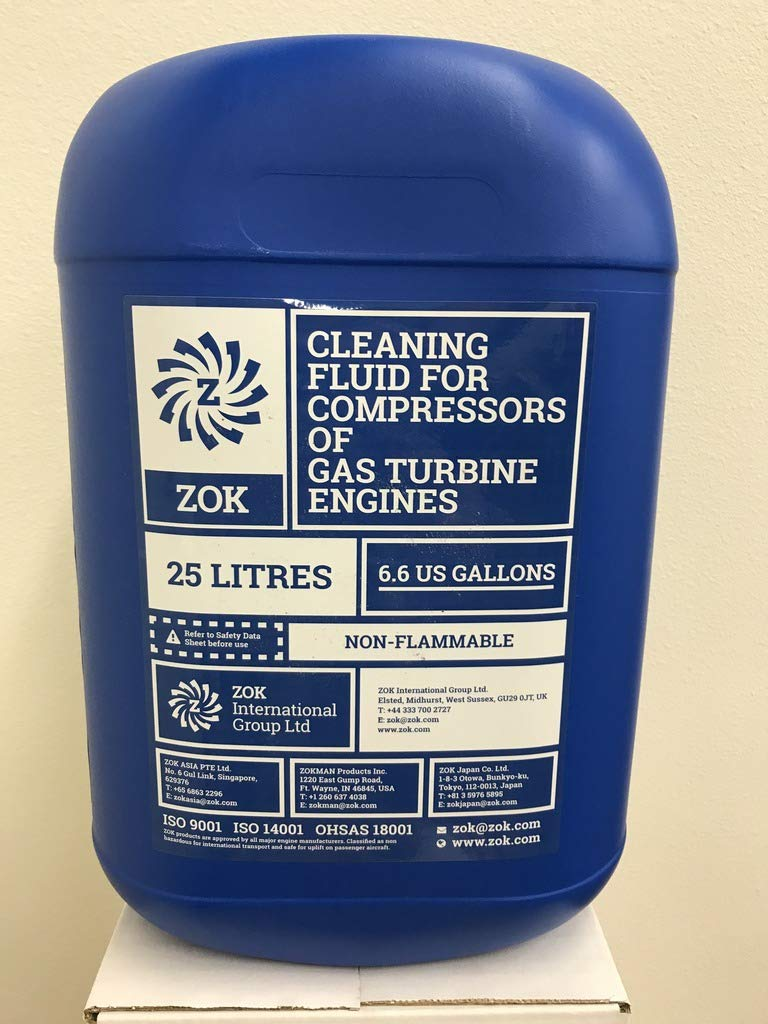 ZOK27 Gas Turbine Compressor Wash Fluid