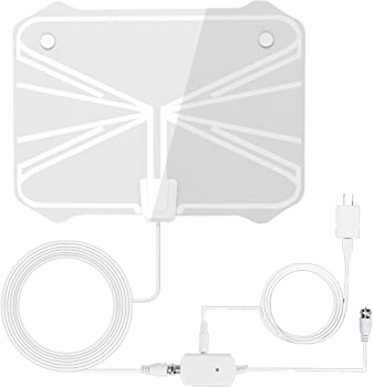 Reignet 50 Mile Range Amplified Indoor HDTV Antenna