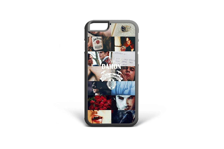 Koldan The Vampire Diaries Case iPhone 6 6S Plus 5 5S SE Damon Salvatore 8 Plus 7 Plus iPhone XS Max X XR Ian Somerhalder Samsung S8 Plus Cover S6 S7 Edge S8 S9 Note 9 Note 8 Samsung S9 Plus 2DaO596