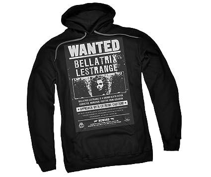 Bellatrix Lestrange Wanted Poster -- Harry Potter Adult Hoodie Sweatshirt, Small