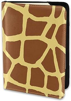 GIRAFFE travel gift idea new PASSPORT Cover Case Travel Wallet Fun design