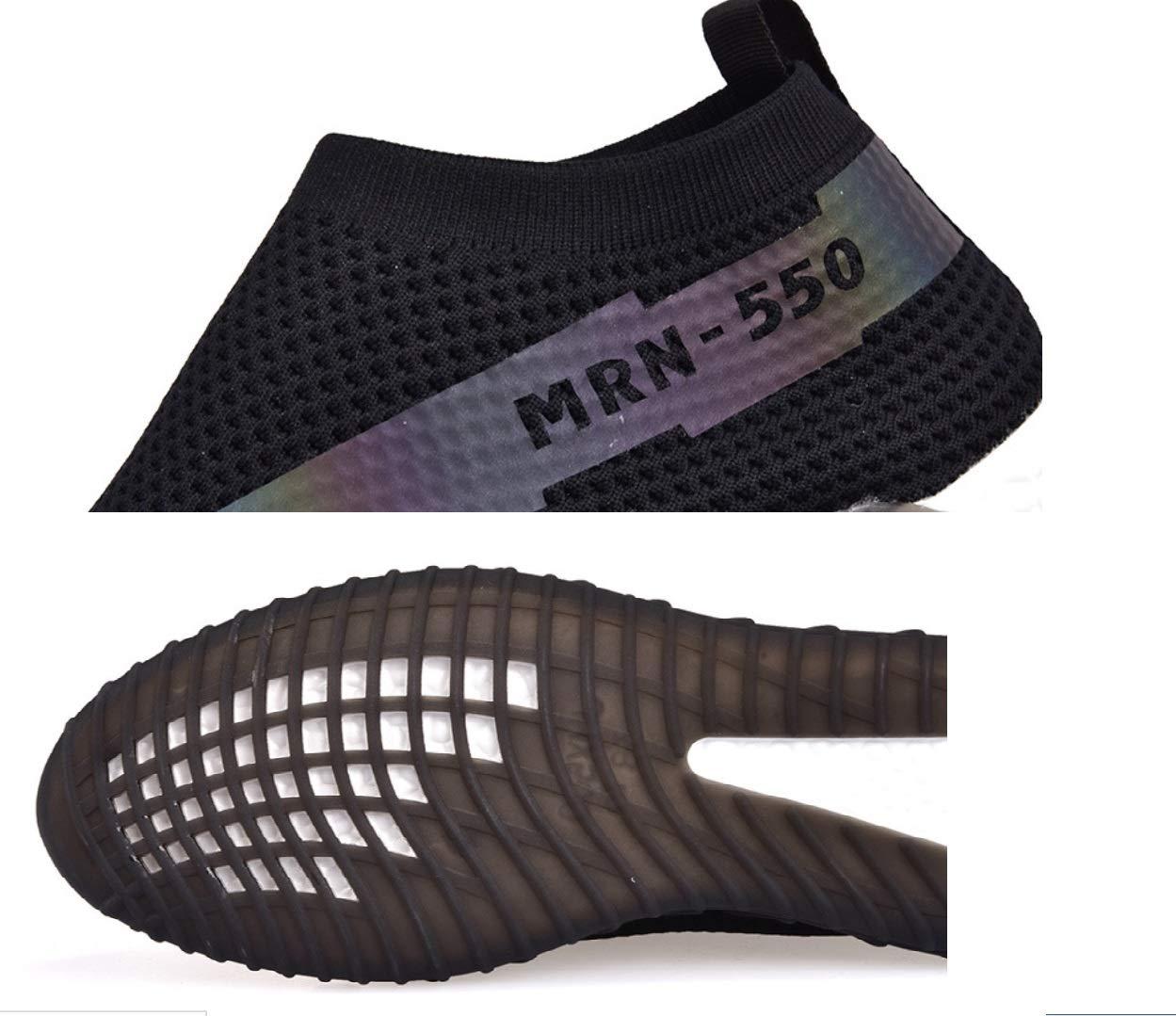 SHANGWU Männer Sportschuhe Fitness Schuhe Leichte Laufschuhe Atmungsaktives Mesh-Mesh Mesh-Mesh Mesh-Mesh Laufendes Skateboard Schuhe Wild Casual Schuhe Wild Faule Schuhe bd89d2