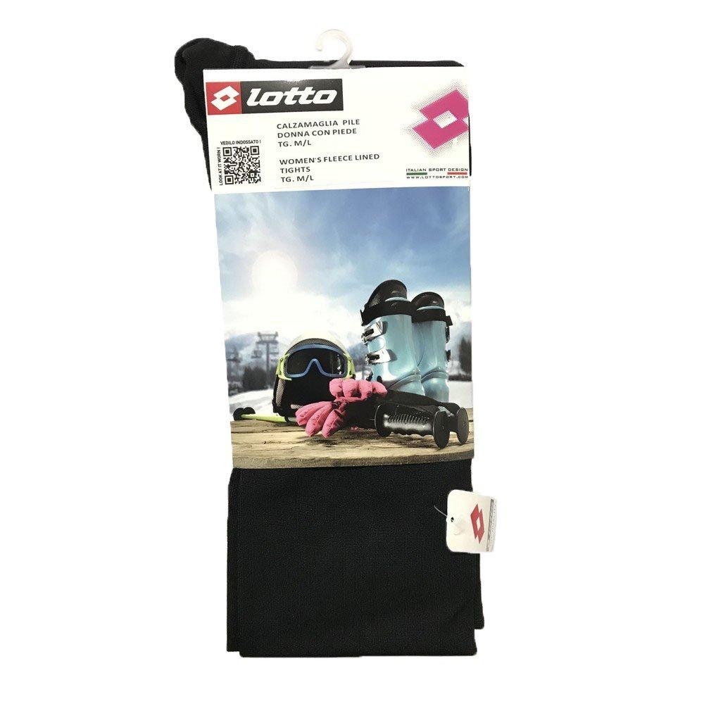 Lotto Calzamaglia pile donna piede colore Nero