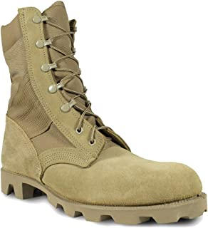 product image for MCRAE Legacy Combat Boot with Panama Sole, Coyote Brown, 6.5 Medium
