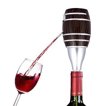Dispensador eléctrico de vino tinto, dispensador de vino rojo SZRWD con tapón a pilas,