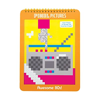 Awesome 80s! Pixel Pictures: Mudpuppy, Rothman, Julia: Toys & Games