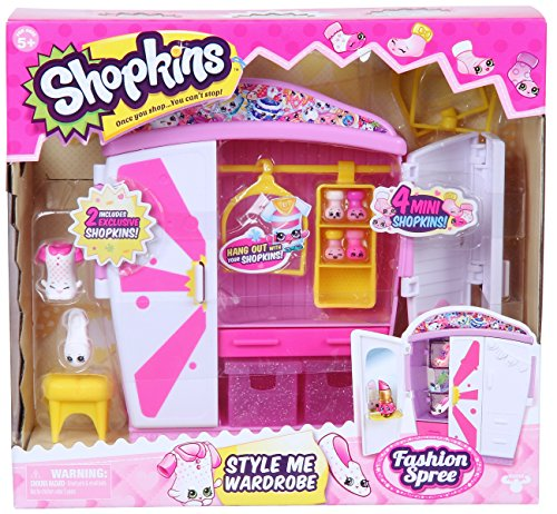 Shopkins Style Me Wardrobe Fashion Playset - Style Fashion Wardrobe
