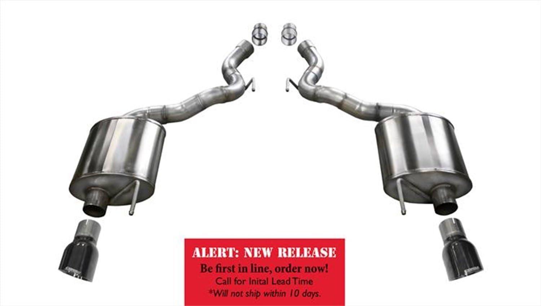 CORSA 14338BLK Exhaust Axle-Back