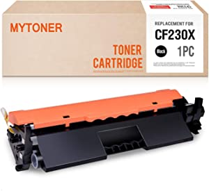 MYTONER Compatible Toner Cartridge Replacements for HP 30X CF230X 30A CF230A (Black, 1-Pack)