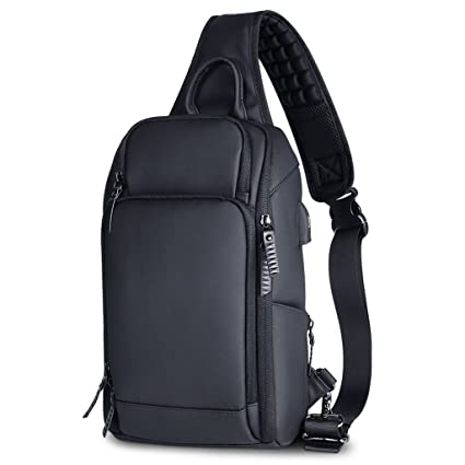 cec9ccfbce92 Image Unavailable. Image not available for. Color  XY CF Chest bag male  large capacity waterproof Messenger ...