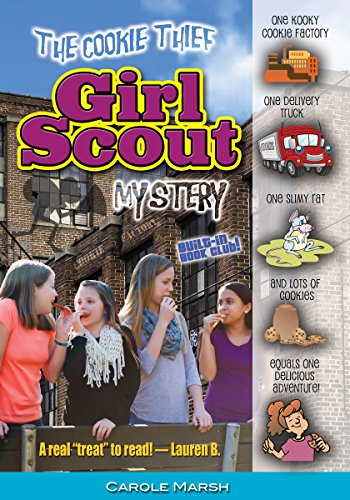 The Cookie Thief Girl Scout Mystery (Girl Scout Mysteries)