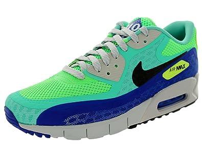 Nike Mens Air Max 90 City Qs Crystal Mint Hyper Blue-Strata Grey 667634 9694a71a82
