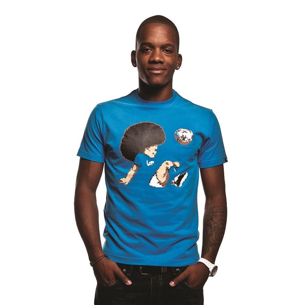 COPA Football - Funky Football T-Shirt - Blau