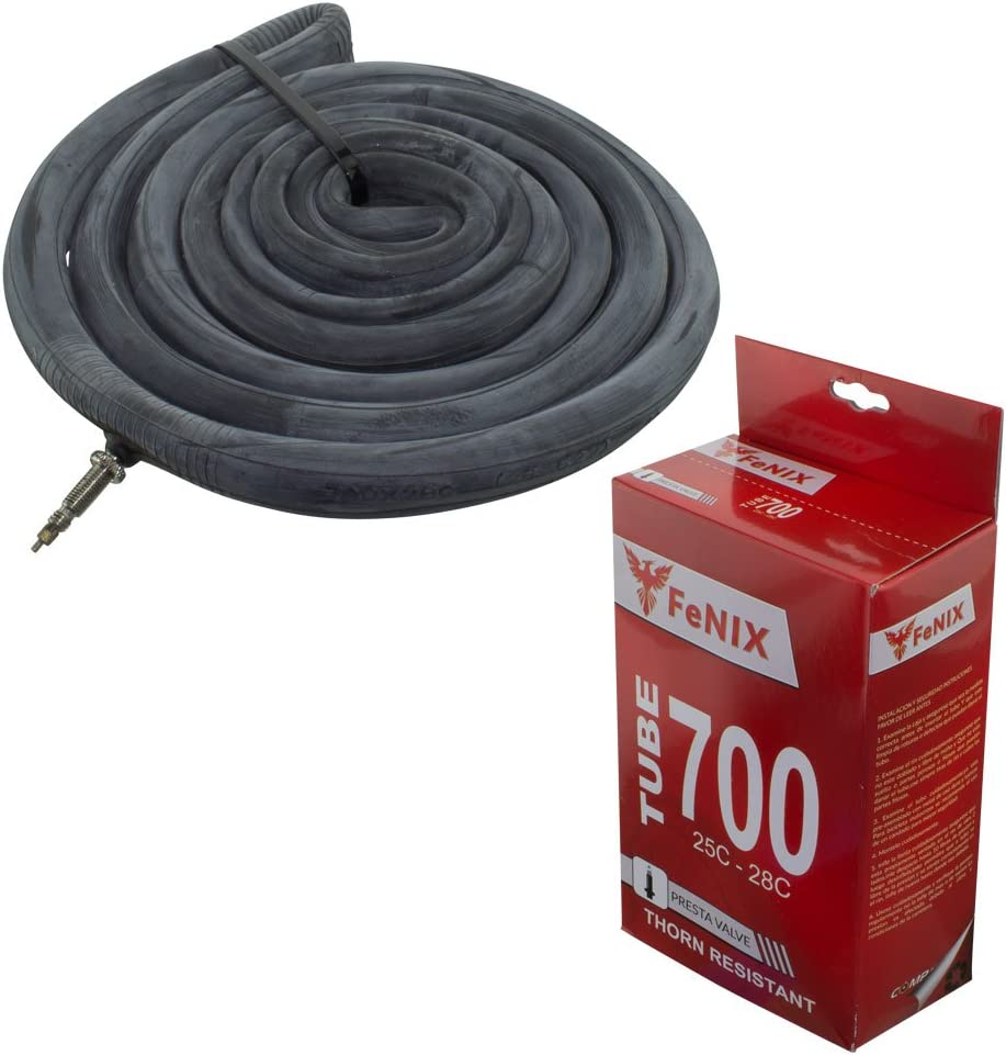Bicycle Duro Inner Tube 700 x 35c//43c 48mm Thorn Proof Schrader