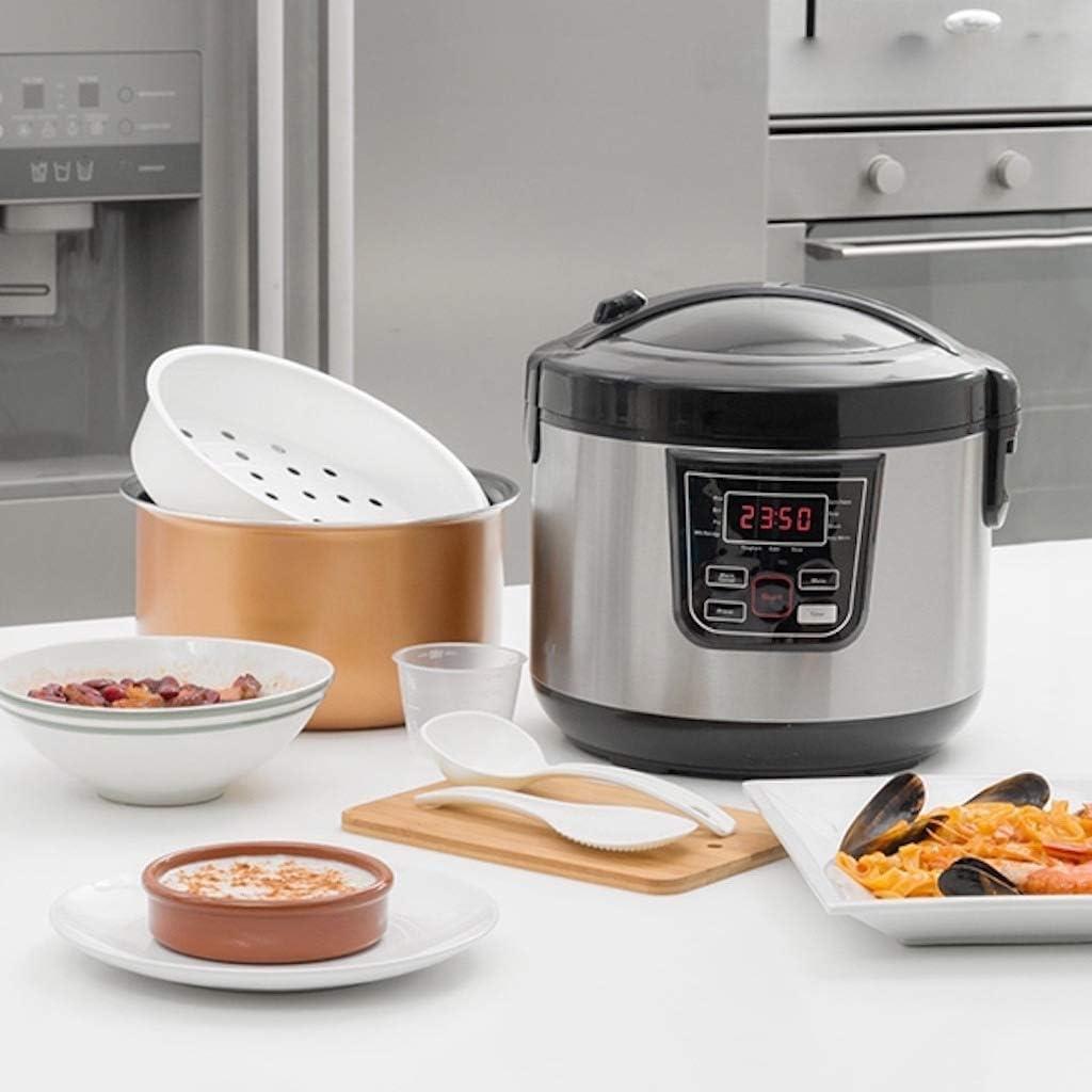 TSC – Robot de cocina multifunción 800 W con libro de recetas – 11 ...