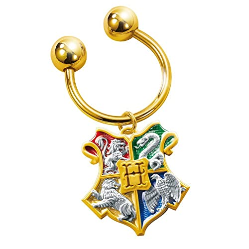 Harry Potter - Hogwarts Casa Escudo - Llavero: Amazon.es ...