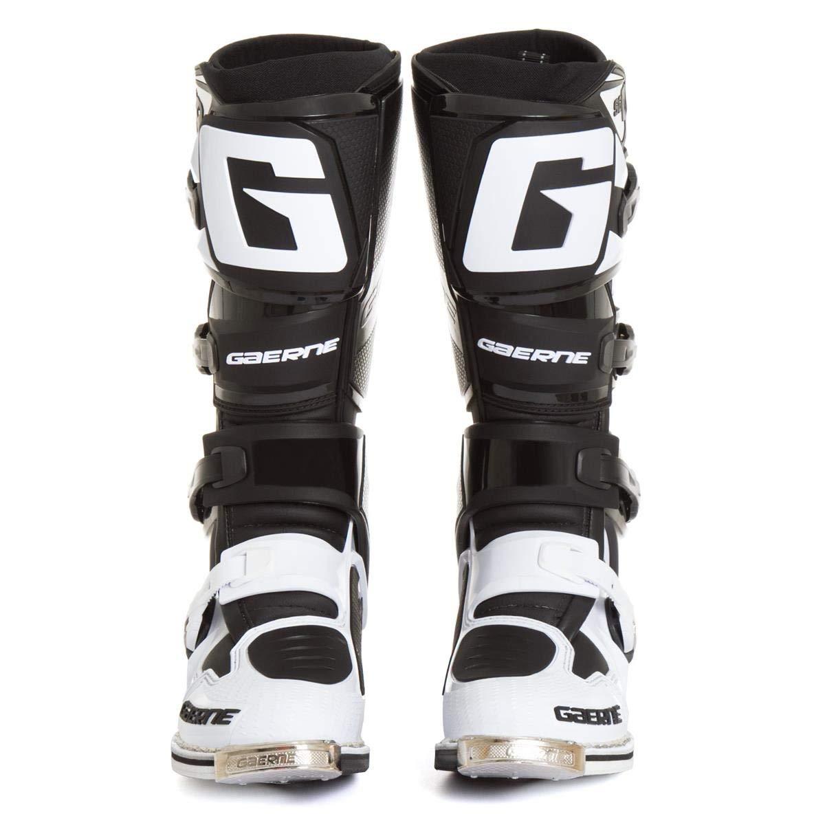 Gaerne Motocross-Stiefel SG 12 Wei/ß//Schwarz