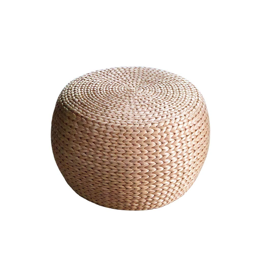 Reed Plant Rattan Weaving Sitting Tatami Round Pier shoes Stool Bay Window Cushion Futon Stool
