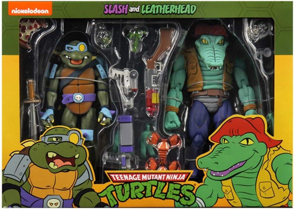 Cjh Teenage Mutant Ninja Turtles Leonardo Crocodile Man Figurine Mobile Amazon Fr Cuisine Maison