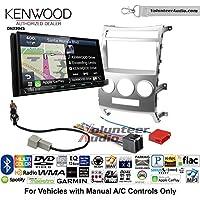 Volunteer Audio Kenwood Excelon DNX994S Double Din Radio Install Kit with GPS Navigation Apple CarPlay Android Auto Fits 2007-2012 Hyundai Veracruz (Manual A/C Controls)