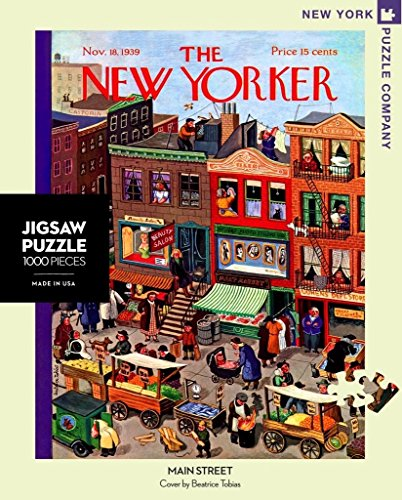 New York Puzzle Company - Yorker Main Street - 1000 Piece Jigsaw Puzzle