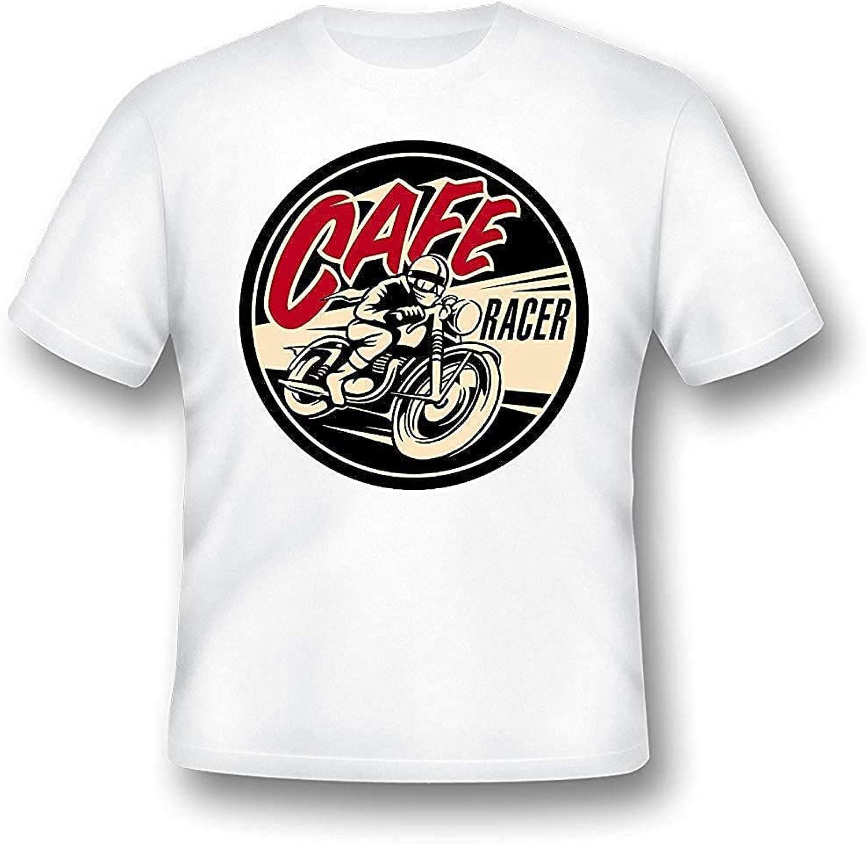 Café Racer T Camisa, hombre, MOTO, Motero, retro, regalo, clásico, 4: Amazon.es: Ropa y accesorios
