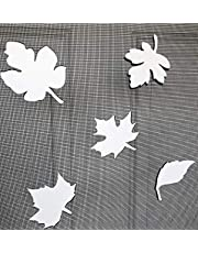 """DCentral Falling Leaves Screen Magnet Double-Sided Decor; Multipurpose, for Non-Retractable Screens, Helps to Stop Walking into Screens, Covers Small tears in Screens, Size Varies by Leaf Avg 4"""" x 4"""""""