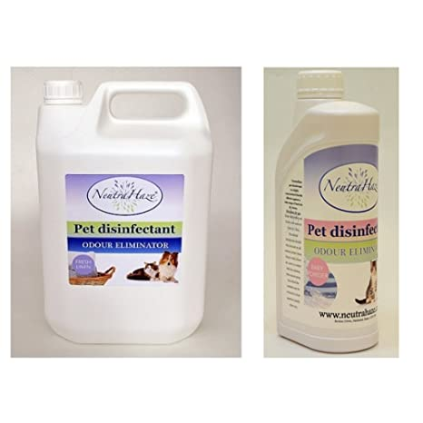 NeutraHaze - Desinfectante profesional para mascotas (2,5 L)