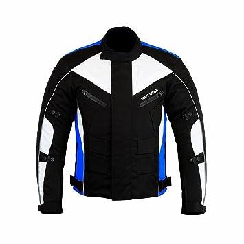 Swiftwears Chaqueta impermeable para hombre de moto textil Cordura CE aprobado: Amazon.es: Coche y moto