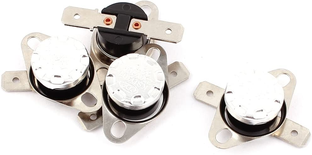 uxcell 4PCS KSD301 55C 131F NC Thermostat Temperature Thermal Control Switch