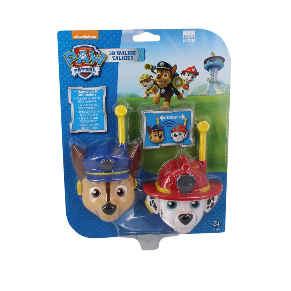 Paw Patrol Walkie Talkies CB Radio 3D Featuring Chase and Marshall by Paw Patrol (Image #1)