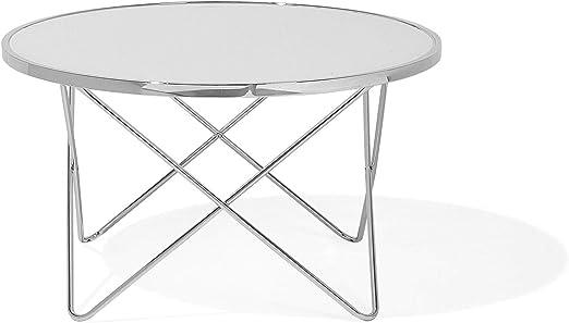 Beliani Designer Kaffeetisch Beistelltisch Tisch